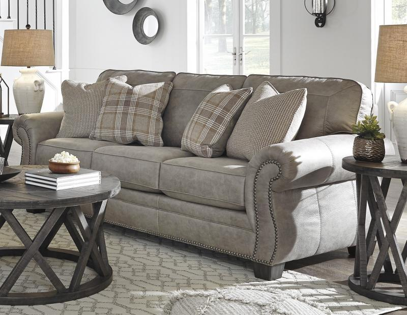 Commercial Interiors Aspen Leather Living Room