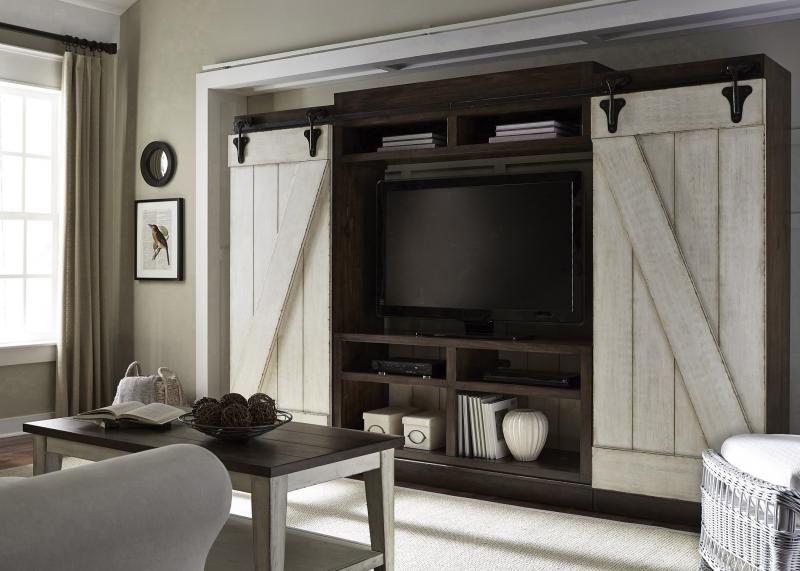 Commercial Interiors - Wall Unit Entertainment Centers