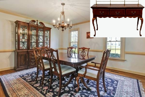 Lexington Solid Cherry Dining Room Set $2775