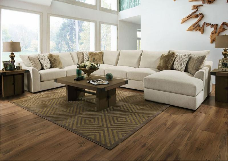 Commercial Interiors - Windham Sectional & Living Room