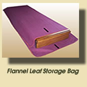 flannel leaf storage bags
