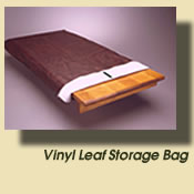 vinyl leather leaf bags